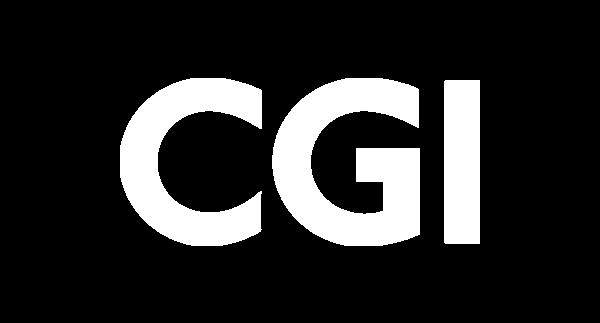 CGI logo white