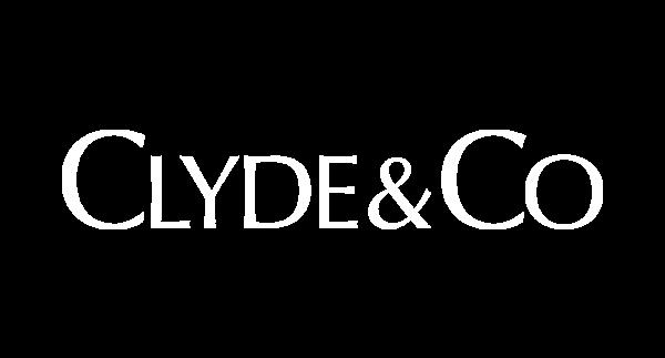 Clyde & Co logo white