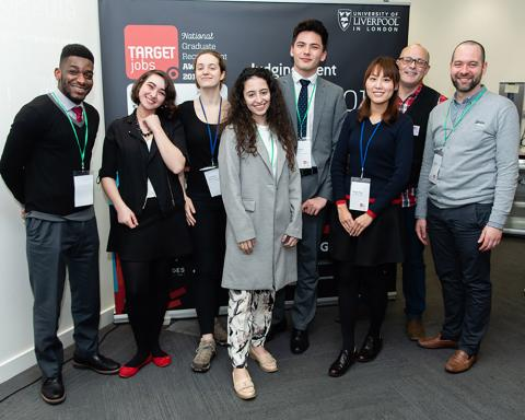 TARGETjobs National Graduate Recruitment Awards 2019 Student Judging Day